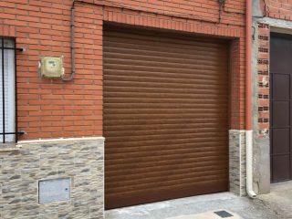 persiana de garaje